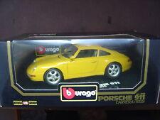 Porsche 911 993 ( 1993 ) carrera 1/18 - Burago