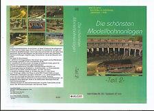 Modellbahn DVD: Film Nr. 55 Die schönsten Modellbahnanlagen-Teil 2-