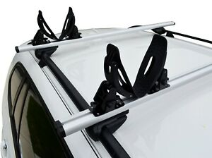 Kayak Canoe Carrier Holder Mounted for Roof Rack with T channel or Square Bar