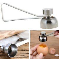 Stainless Steel Egg Cracker Egg Topper Egg Cutter EggShell Opener Kitchen Gadget