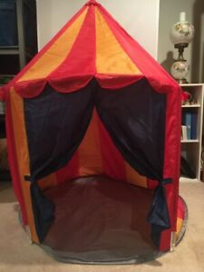 IKEA Circus Play tent multicolor