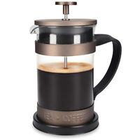 French Press Kaffeebereiter 15x10,2x18,2cm Edelstahl Filter 600 ml Stempelkanne
