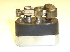 VINTAGE ALUMINIUM LIFTARM POCKET LIGHTER - PART LEATHER COAT -  WWII (1939-1945)