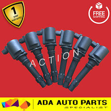 Ford Ignition Coils Suit BA BF FG Falcon SX SY Territory FPV LPG Turbo Coil x 6