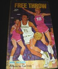 Free Throw By Mike Neigoff 1968 Paperback - Basketball