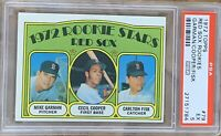 1972 TOPPS Carlton Fisk PSA 5 ROOKIE RC #79 PSA Boston Red Sox HOF EX EXCELLENT