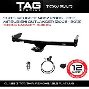 TAG Towbar Fits Peugeot 4007 & Mitsubishi Outlander 2006-2012 Capacity 1600Kg