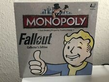 Brand New Sealed Monopoly Fallout Collectors Edition Board Game