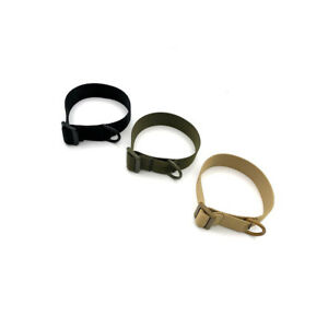 Heavy Duty Adjustable Military Tactical Buttstock Sling Adapter W/D-ring