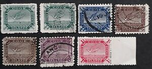 RARE 1898- Cook Islands lot of Wrybill stamps Mint & Used