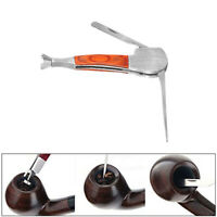 New Multifunctional Stainless Steel Tobacco Pipe Cleaner Cleaning Tool