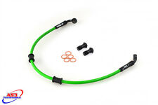 KAWASAKI ZX6R 636 2009-2012 AS3 VENHILL BRAIDED REAR BRAKE LINE HOSE