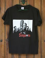 Black THE SIMPSONS tshirt starring THE SOPRANOS. Size S as a Medium, good condit