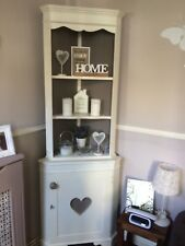 Shabby Chic French Style Corner Display Unit & Cupboard Cabinet FOR COMMISSION