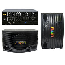BMB Home Karaoke System with Bluetooth (Free Wallmount and Cable)