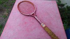 raquette de tennis Gauthier G.07 en bois vintage wooden racquet
