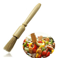 New Wooden Pastry Brush Basting Cake Baking BBQ Roasting Bake Cook Dusting Flour