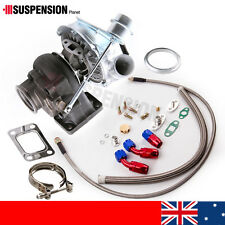 New T3 T4 TO4E Turbo Turbocharger 420HP  + Oil Line Kit for Nissan TD42 Safari