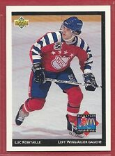 1992-93 Upper Deck McDonald's NHL All-Stars - #12 - Luc Robitaille - Kings