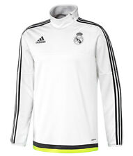 Adidas Performance Mens Real Madrid Football Training Top Warm Up Sweatshirt New