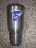 St. Louis Blues 30 oz Tumbler Travel Mug Vacuum Stainless Steel Ozark Trail