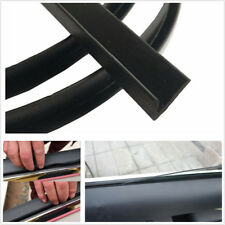 4M Rubber Seal Strip Trim For Car Front Rear Side Ageing Windows Vibration Noise