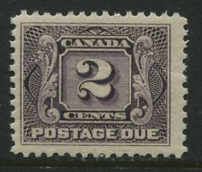Canada 1906 2 cents Postage Due unmounted mint NH