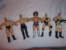 Carlito & Assorted Jakks Pacific Wrestling Articulated Action Figures 7.5""