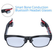 Bluetooth Wireless Glasses Bone Conduction Stereo Music Headset For Samsung HTC