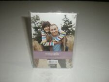 "Megapix 4"" x 6"" Bent L Frame Tabletop Picture Frame Clear Plastic NEW"