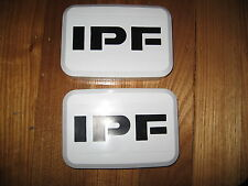IPF 800 / 800XS WHITE DRIVING SPOT LIGHT COVERS 4WD 4X4 ***BRAND NEW***