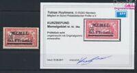 Memelgebiet 36a geprüft mit Falz 1921 Aufdruckausgabe (9039387