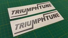 TRIUMPH Tune TR7 TR8 Spitfire sprint TR4 TR5 Herald replacement Decals Stickers