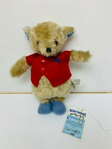 Merrythought Mr Whoppit Repro Teddy Bear Ltd Edition Jointed Mohair