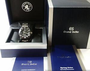 Seiko Grand Seiko Spring Drive 9R65-0AM0 Mens  Diver Watch Box Papers