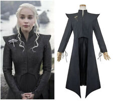 Game of Thrones 8 Costume Daenerys Targaryen Cosplay Outfit Full Suit Dress Wig