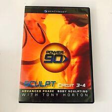 BeachBody Power 90 Sweat Cardio 3-4 Advanced Phase Routine Tony Horton DVD Video
