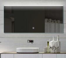 LED Bad Wand Badezimmerspiegel mit Warm&Kaltweiß Touchschalter 152x70 THL152X70