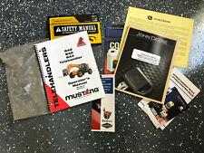 Mustang 642 842 844 BUNDLE Telehandler / Forklift JD Engine Operators Manual s
