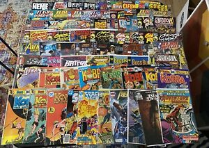 Collection 74 Comics Books Ghost Rider, Forgotten Realm, Kong Untamed, Kobra Etc