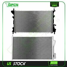 New Assembly AC Condenser&Radiator for 00-05 Ford Focus 2.0L l4