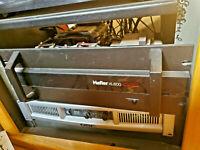 Legendary Audiophile Hafler XL600 amplifier, MOSFET outputs.