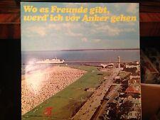 2LP Wo es Freunde gibt,werd ich von Anker gehen  AMIGA DDR 1974