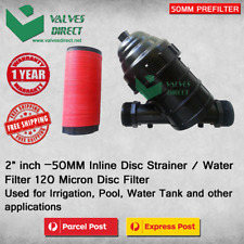 "50mm 2"" Inch Inline Disc Filter/disc Strainer/ Prefilter for Pool Irrigation"