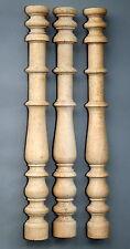 3 Säulen Säule Vollholz Repro unbehandelt Werkstattbestand Restposten - . - (214