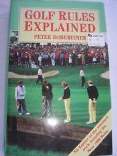Golf Rules Explained,Peter Dobereiner