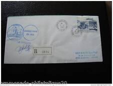 TAAF lettre 3/3/87 - timbre - yvert et tellier aérien n°98 (cy4)