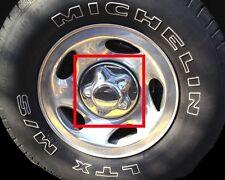 "7"" WIDE Chrome Wheel Center Caps (Set of 4) FOR 1998-2003 Lincoln Navigator"
