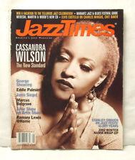 JAZZ TIMES MAGAZINE CASSANDRA WILSON GEORGE SHEARING