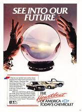 1988 Chevrolet Beretta Corsica - Classic Vintage Advertisement Ad H32
